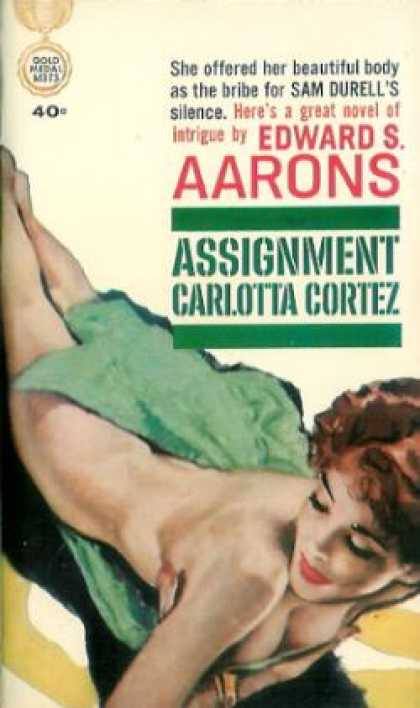 Gold Medal Books - Assignment Carlotta Cortez - Edward S. Aarons