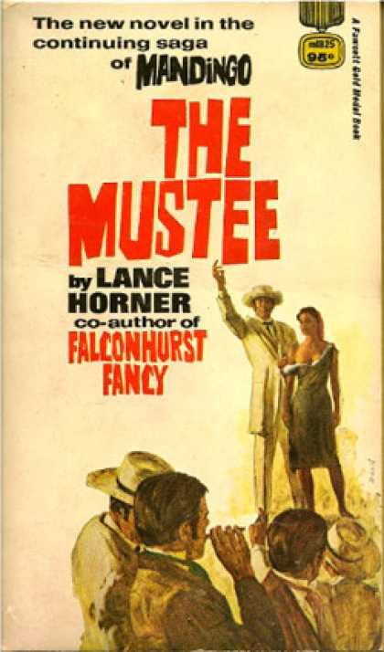 Gold Medal Books - The Mustee - Lance Horner