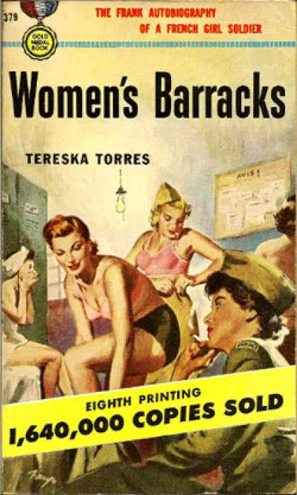 Gold Medal Books - Women's Barracks - Tereska Torres