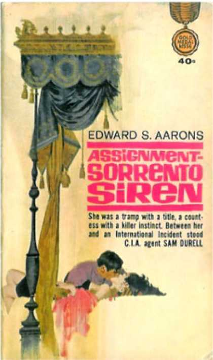Gold Medal Books - Assignment, Sorrento Siren - Edward S. Aarons