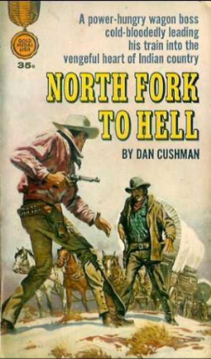 Gold Medal Books - North Fork To Tell - Dan Cushman