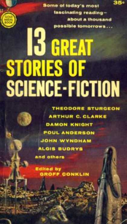 Gold Medal Books - 13 Great Stories of Science-fiction