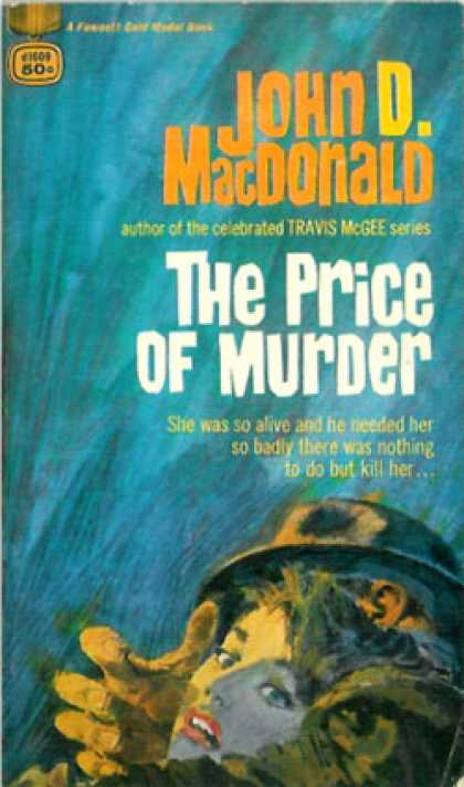 Gold Medal Books - The Price of Murder - John D. Macdonald