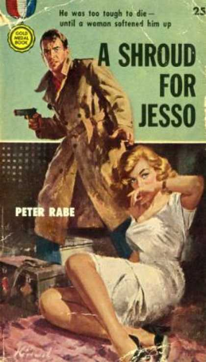 Gold Medal Books - A Shroud for Jesso - Peter Rabe