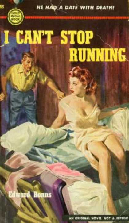 Gold Medal Books - I Can't Stop Running - Edward Ronns