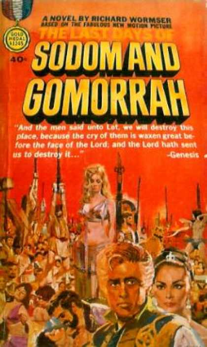 Gold Medal Books - The Last Days of Sodom and Gomorrah