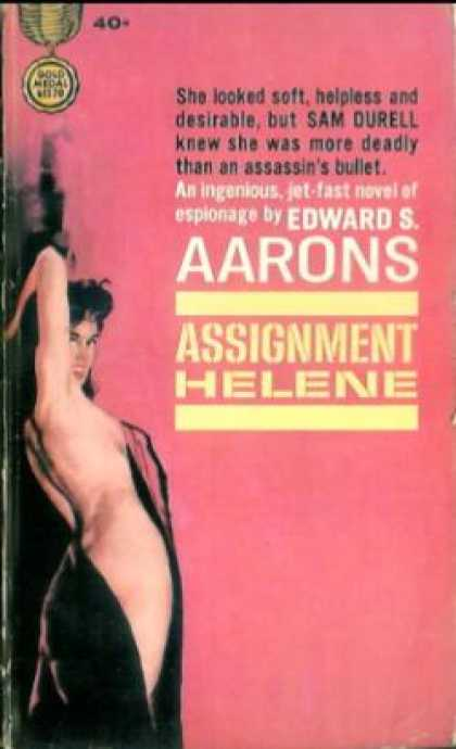 Gold Medal Books - Assignment Helene - Edward S. Aarons