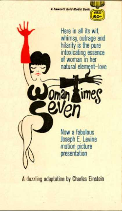 Gold Medal Books - Woman Times Seven - Charles Einstein