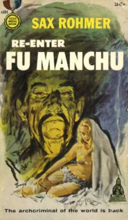 Gold Medal Books - Re-enter Fu Manchu