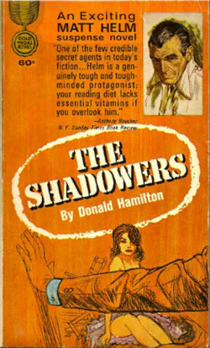 Gold Medal Books - The Shadowers - Donald Hamilton