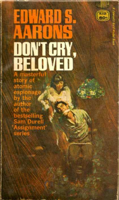 Gold Medal Books - Don't Cry, Beloved - Edward Aarons