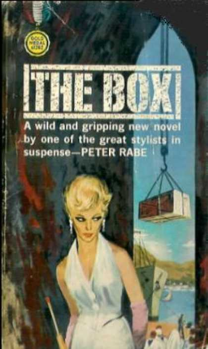 Gold Medal Books - The Box - Peter Rabe