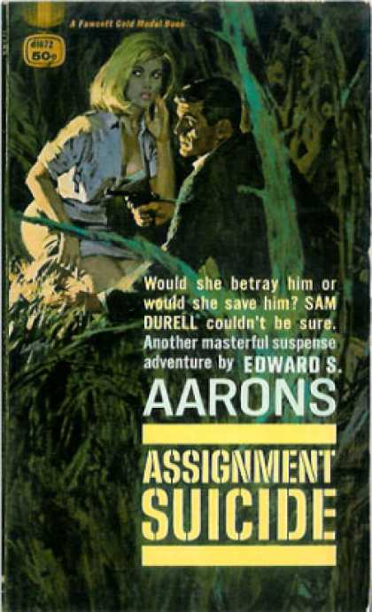 Gold Medal Books - Assignment Suicide - Edward S. Aarons