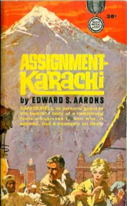 Gold Medal Books - Assignment Karachi - Edward S. Aarons