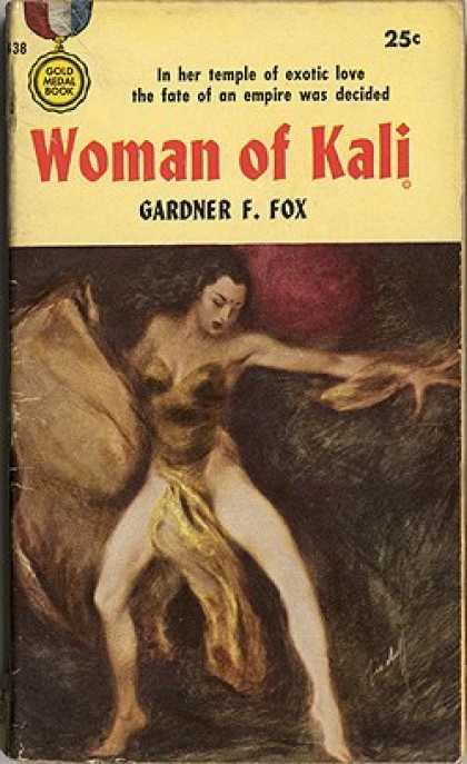 Gold Medal Books - Woman of Kali - Gardner F. Fox