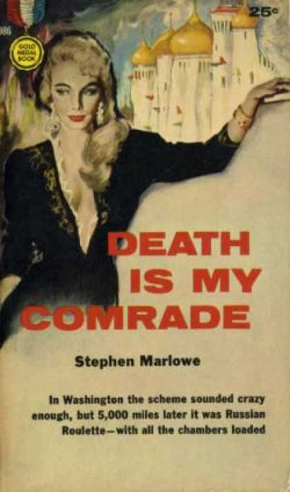 Gold Medal Books - Death Is My Comrade - Stephen Marlowe