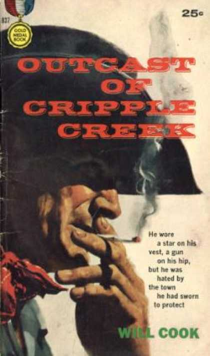 Gold Medal Books - Outcast of Cripple Creek - Will Cook