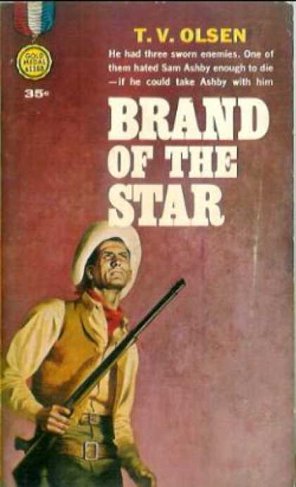 Gold Medal Books - Brand of the Star - T. V. Olsen