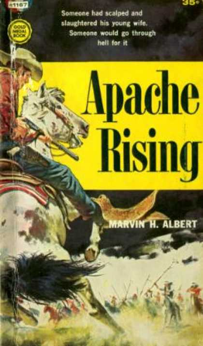 Gold Medal Books - Apache Rising - Marvin H. Albert