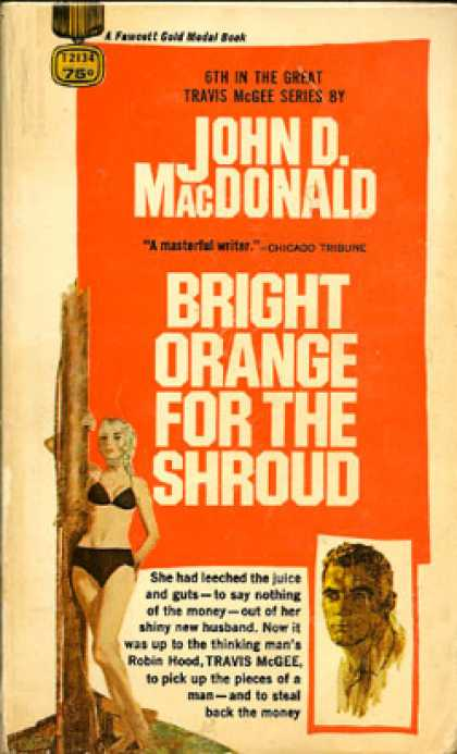 Gold Medal Books - Bright Orange for the Shroud
