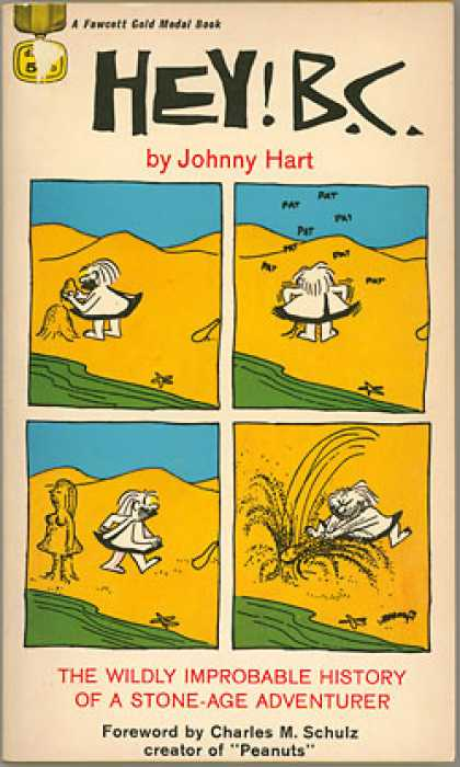 Gold Medal Books - Hey! B.c. - Johnny Hart