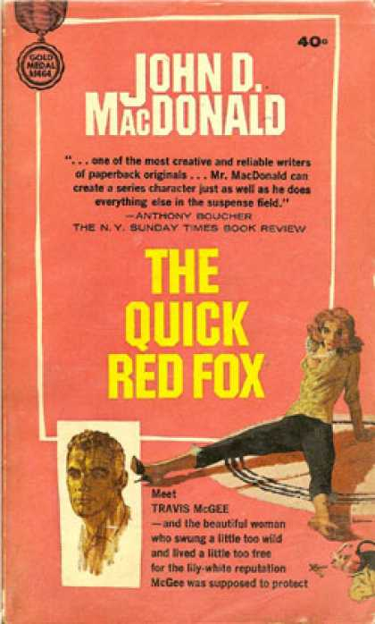 Gold Medal Books - The Quick Red Fox (gold Medal D1610) - John D. Macdonald