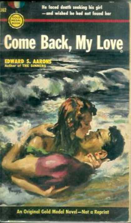 Gold Medal Books - Come Back, My Love - Edward S. Aarons