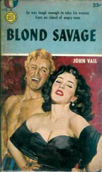 Gold Medal Books - Blond Savage