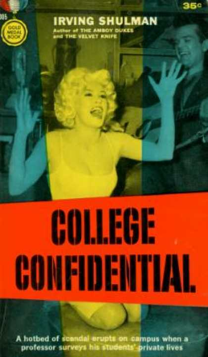 Gold Medal Books - College Confidential - Irving Shulman