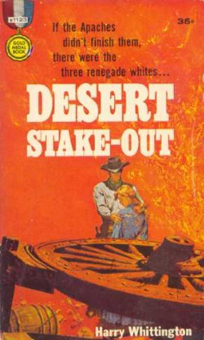 Gold Medal Books - Desert Stake-out - Harry Whittington