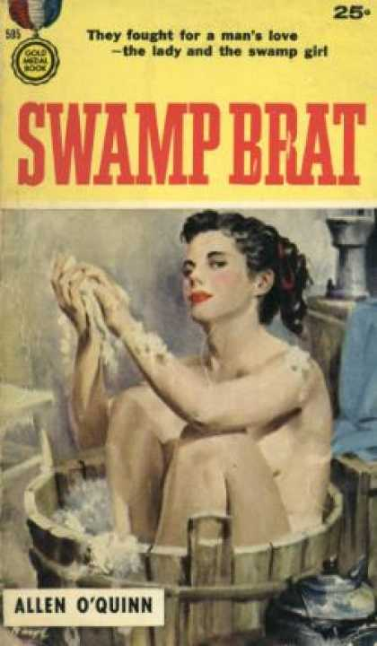Gold Medal Books - Swamp Brat