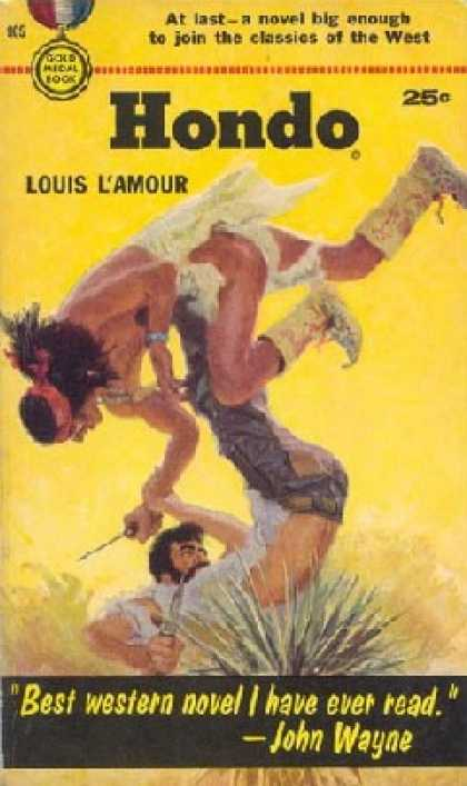 Gold Medal Books - Hondo - Louis L'amour