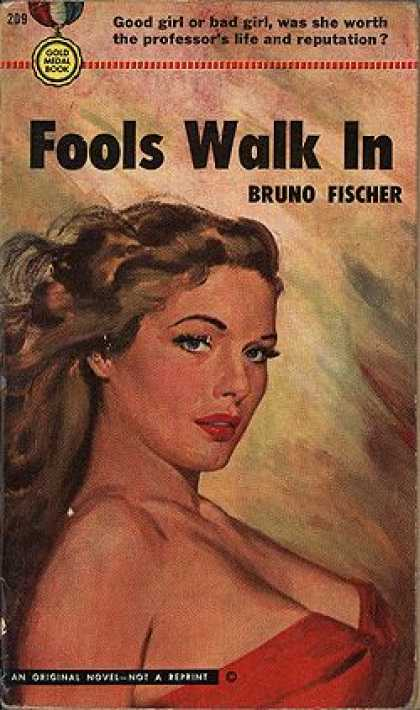 Gold Medal Books - Fools Walk In