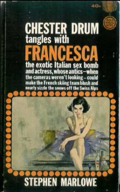 Gold Medal Books - Francesca - Stephen Marlowe