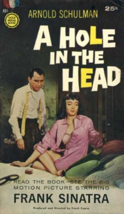 Gold Medal Books - A Hole In the Head - Arnold Schulman