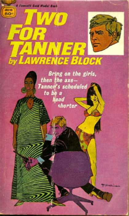 Gold Medal Books - Two for Tanner - Lawrence Block