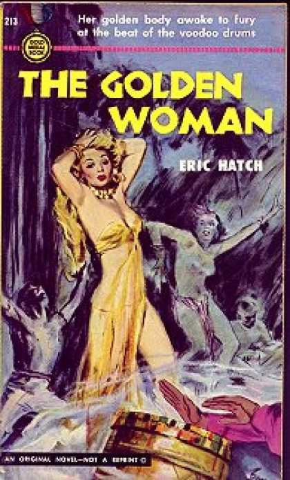 Gold Medal Books - The golden woman - Eric Hatch