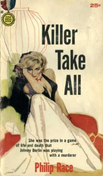 Gold Medal Books - Killer Take All - Philip Race