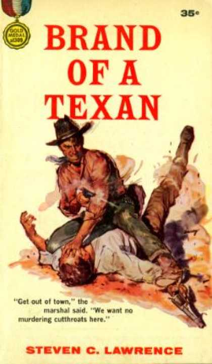 Gold Medal Books - Brand of a Texan