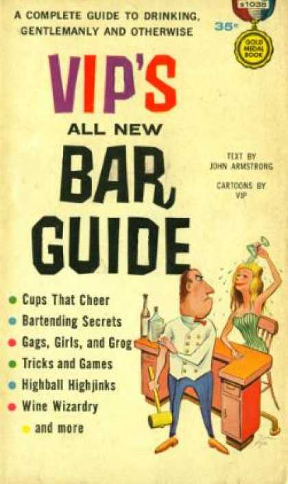 Gold Medal Books - Vip's All New Bar Guide - John Armstrong