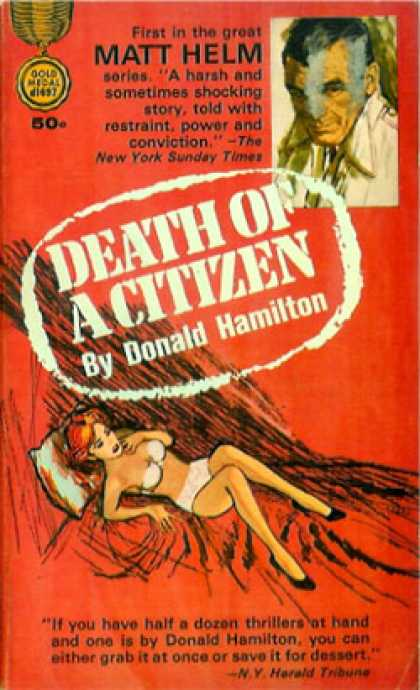 Gold Medal Books - Death of a Citizen