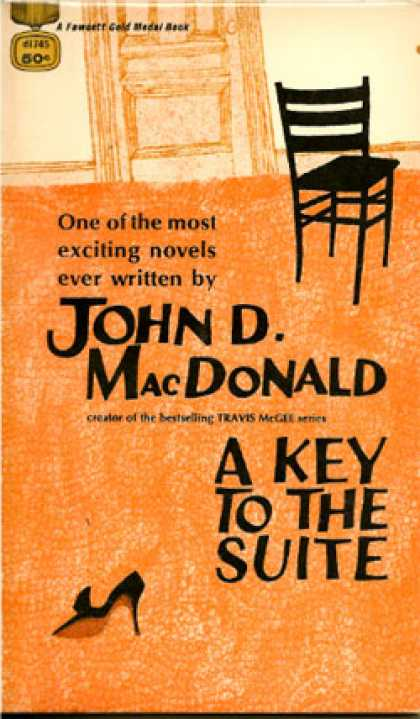 Gold Medal Books - Key To the Suite - John D. Macdonald