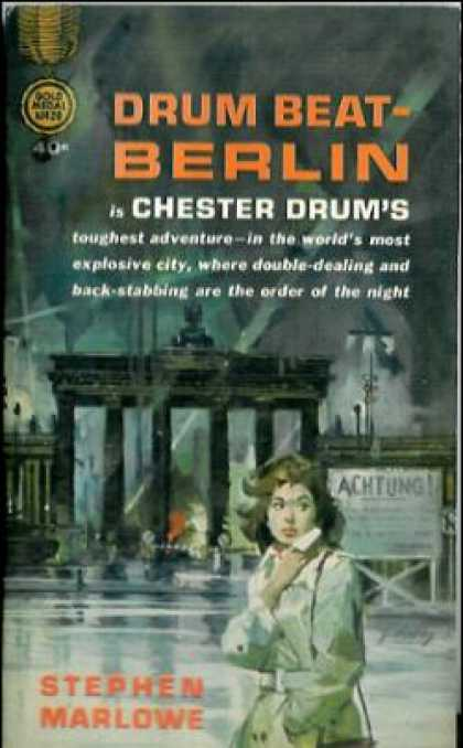 Gold Medal Books - Drum Beat-berlin - Stephen Marlowe