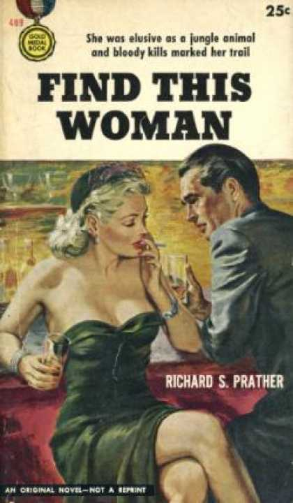 Gold Medal Books - Find This Woman (gold Medal #489) - Richard S. Prather
