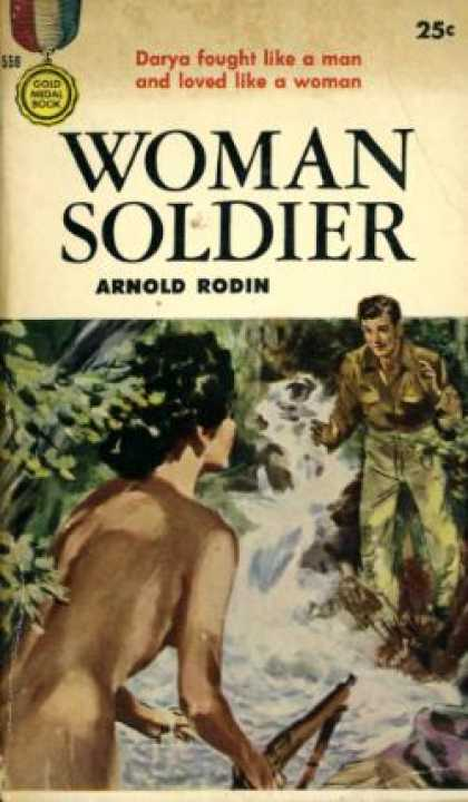 Gold Medal Books - Woman Soldier - Arnold Rodin