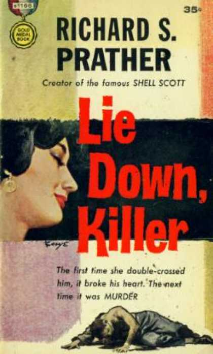 Gold Medal Books - Lie Down, Killer - Richard S. Prather