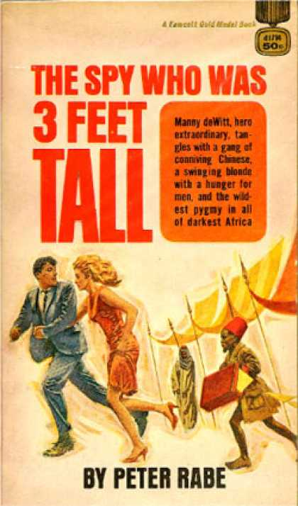 Gold Medal Books - The Spy Who Was 3 Feet Tall