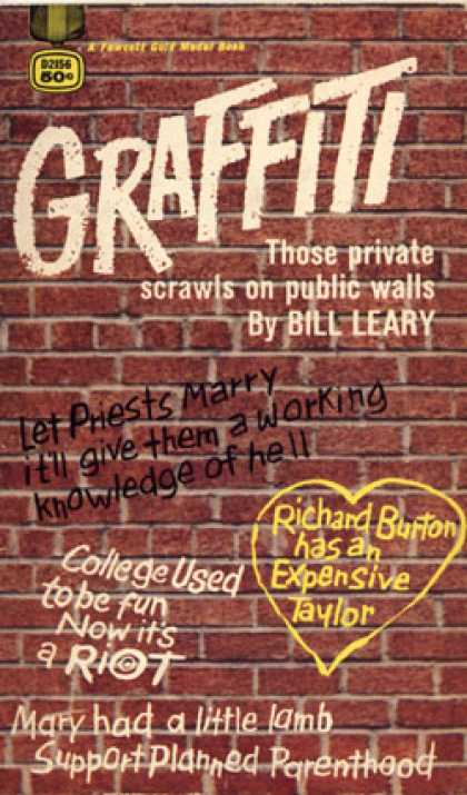 Gold Medal Books - Graffiti - Bill Leary
