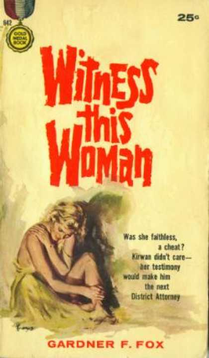 Gold Medal Books - Witness This Woman