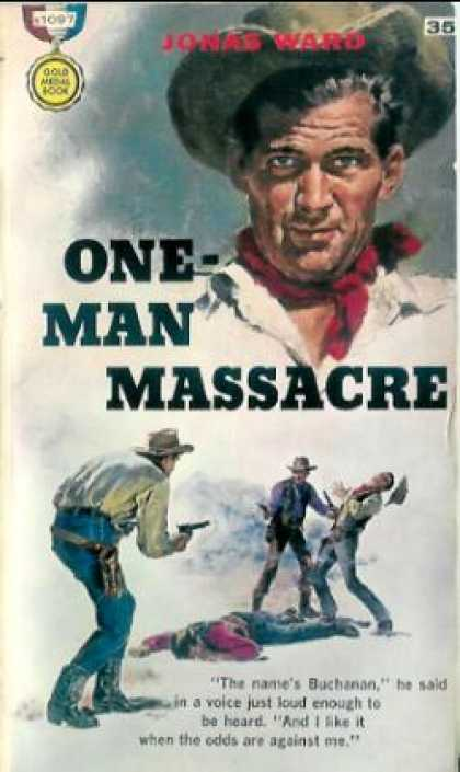 Gold Medal Books - One-man Massacre - Jonas Ward